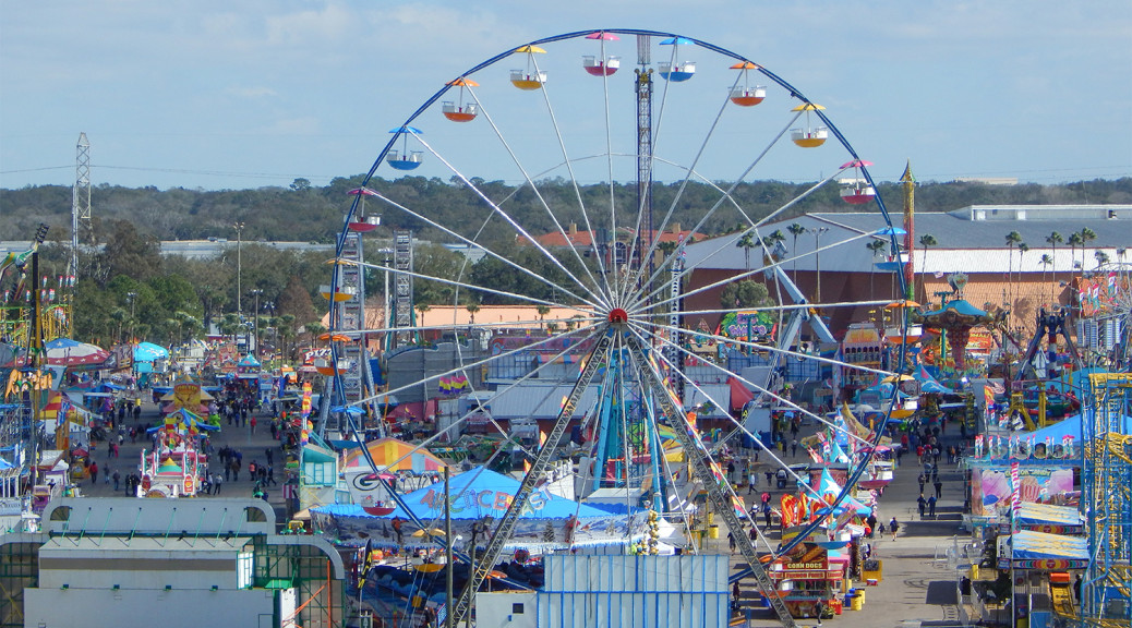 Sky View Florida State Fair 2014 Carnival Rides Staff Photo